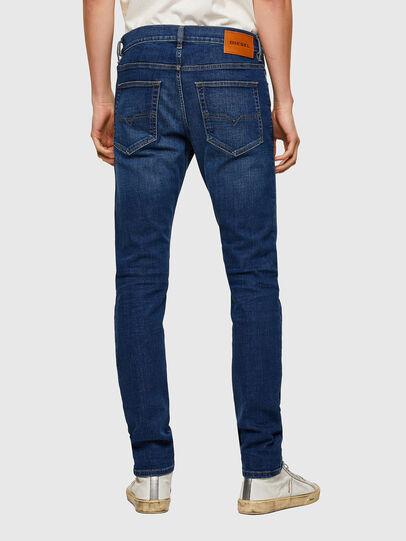 Diesel - D-Luster 009NN, Dark Blue - Jeans - Image 2