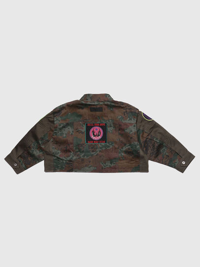 Diesel - JANAPAY, Green Camouflage - Jackets - Image 2