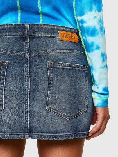 Diesel - DE-EISY, Dark Blue - Skirts - Image 4