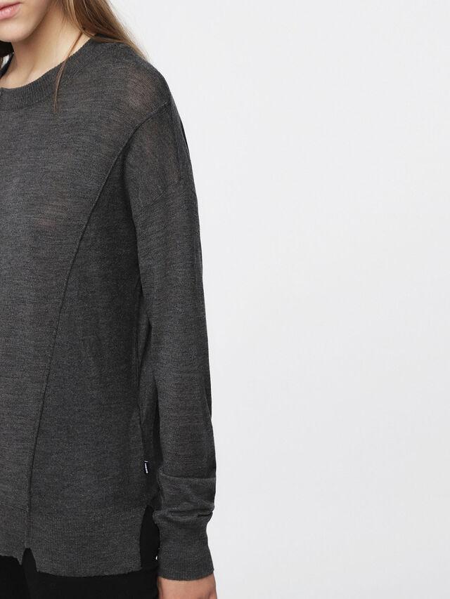 Diesel - M-AGG, Dark grey - Knitwear - Image 4
