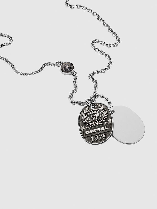 Diesel DX1106, Silver - Necklaces - Image 2