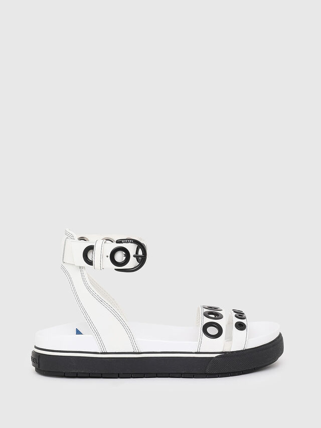 Diesel - SA-GRAND LCE, White/Black - Sandals - Image 1