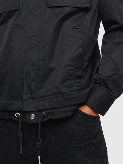 Diesel - J-BEGO, Black - Jackets - Image 5