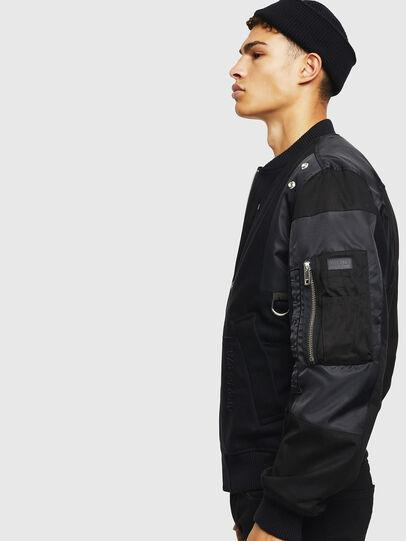 Diesel - W-GARBO, Black - Winter Jackets - Image 6