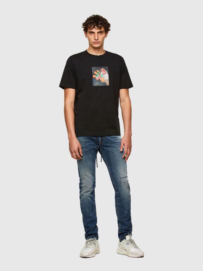 Diesel - Thommer JoggJeans® 069SZ, Dark Blue - Jeans - Image 5