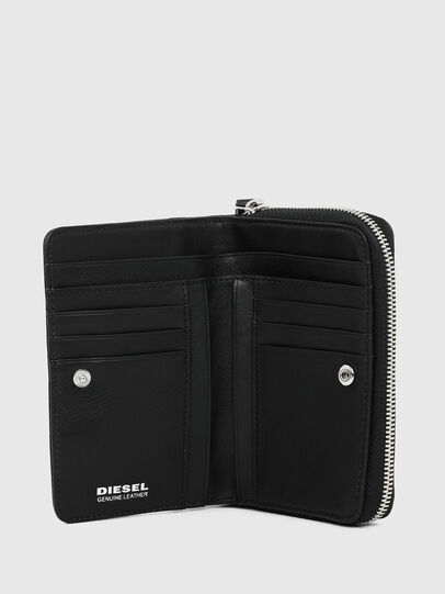 Diesel - BUSINESS II, Black/White - Small Wallets - Image 3