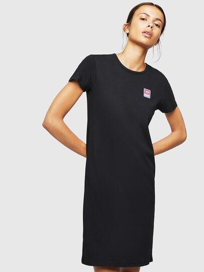 Diesel - UFLT-ISOLLA, Black - T-Shirts - Image 1