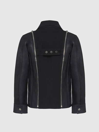 Diesel - L-LAZAY, Black - Leather jackets - Image 2
