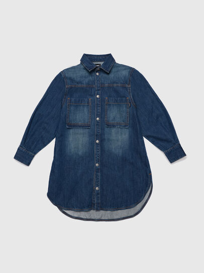 Diesel - DRUPERI, Medium blue - Dresses - Image 1