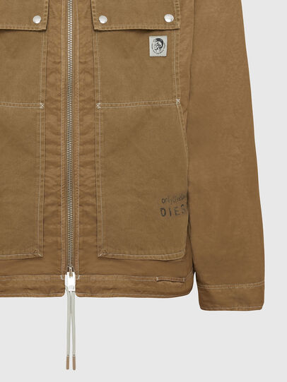 Diesel - J-BERKLEY, Light Brown - Jackets - Image 4