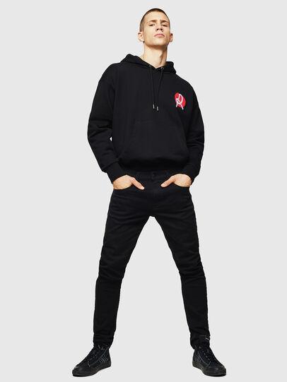 Diesel - LR-S-GIRK-HOOD-VIC, Black - Sweaters - Image 5