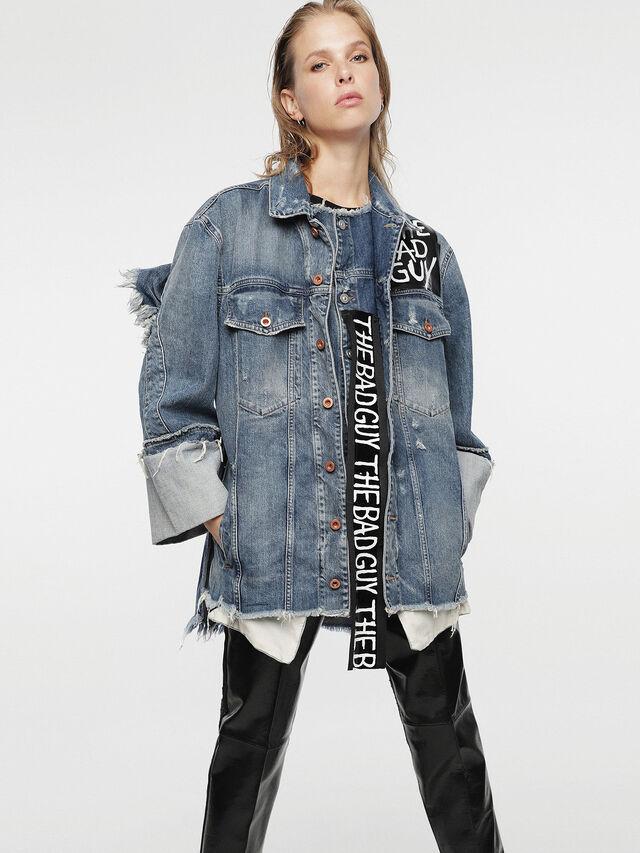 Diesel - HC-DE-VISEMAC, Blue Jeans - Denim Jackets - Image 7