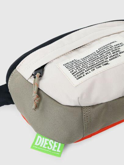 Diesel - LOKI, White/Orange - Crossbody Bags - Image 5