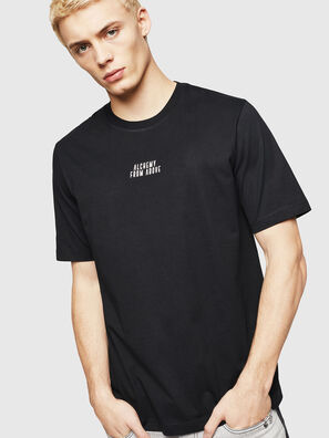T-JUST-A8, Black - T-Shirts