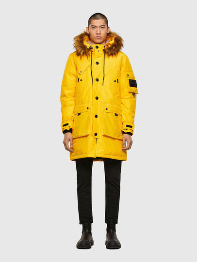 Diesel - W-COLBY, Yellow - Winter Jackets - Image 1