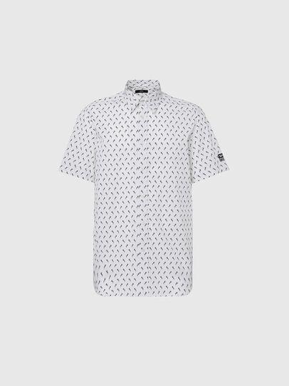 Diesel - S-RILEY-SHO-KA, White - Shirts - Image 1