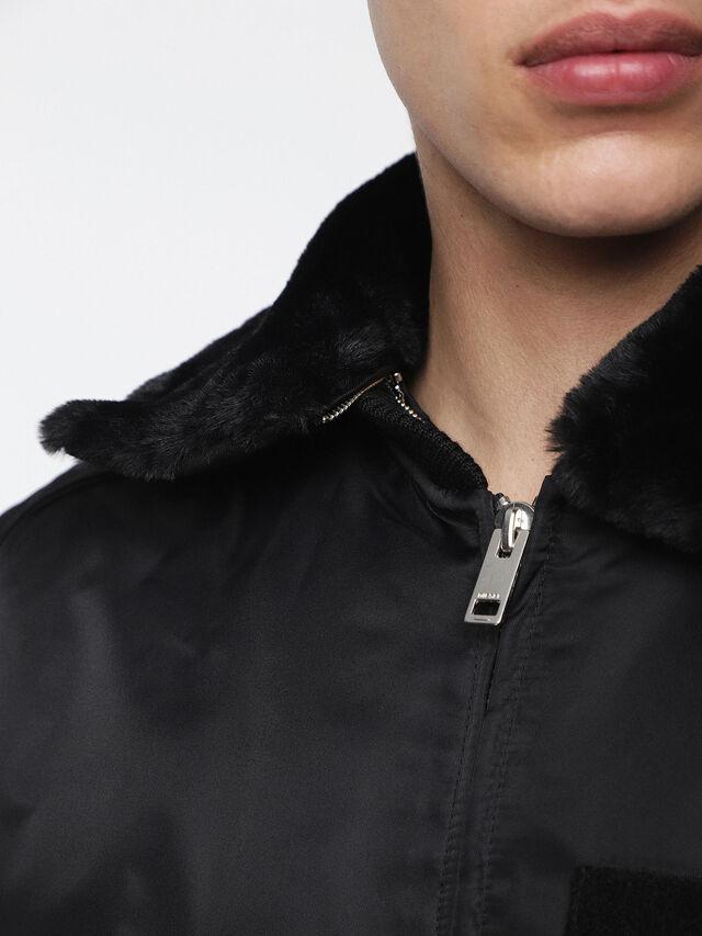 Diesel - W-SLOTKIN, Black - Winter Jackets - Image 5