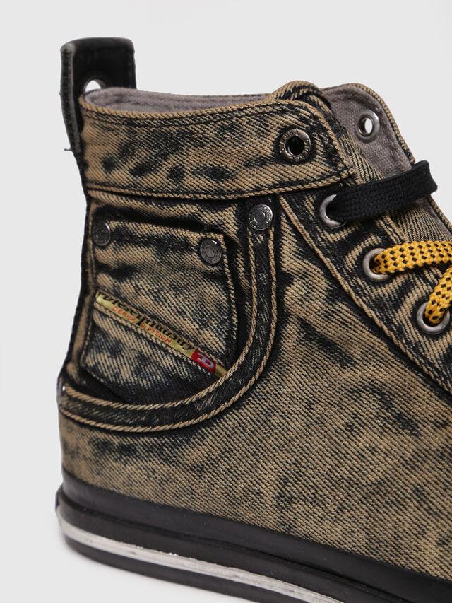 Diesel - EXPOSURE STRIPE, Yellow - Sneakers - Image 4
