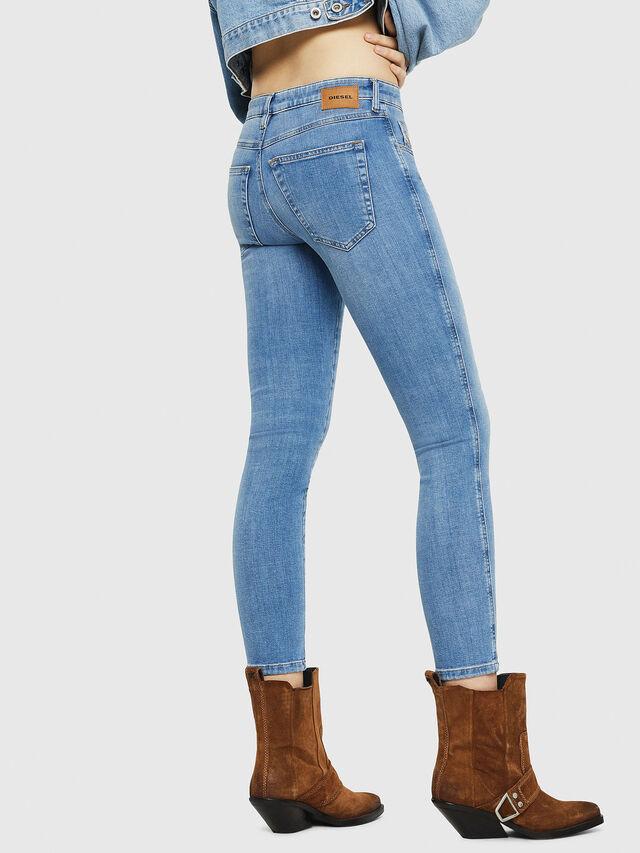 Diesel - Babhila 086AK, Light Blue - Jeans - Image 2