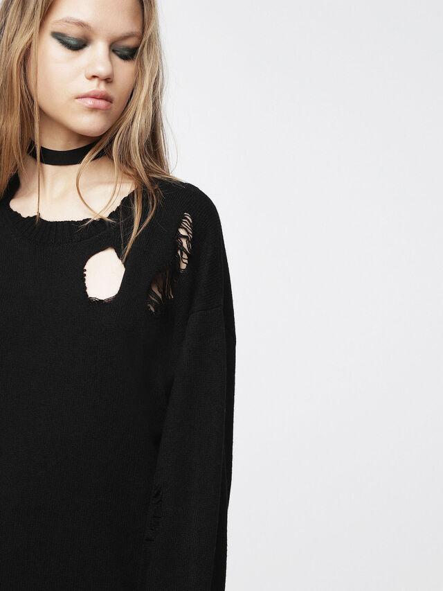 Diesel - M-PURE, Black - Knitwear - Image 3