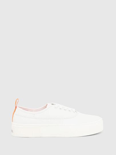 Diesel - S-VANEELA LOW, White/Orange - Sneakers - Image 1