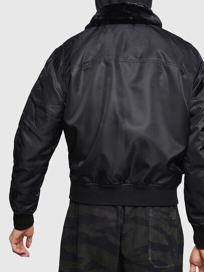 Diesel - W-SLOTKIN-A, Black - Winter Jackets - Image 2
