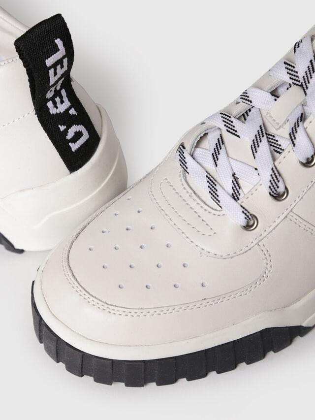 Diesel - S-RUA LC, White - Sneakers - Image 4