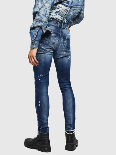 Diesel - Sleenker 0091Y, Medium blue - Jeans - Image 2