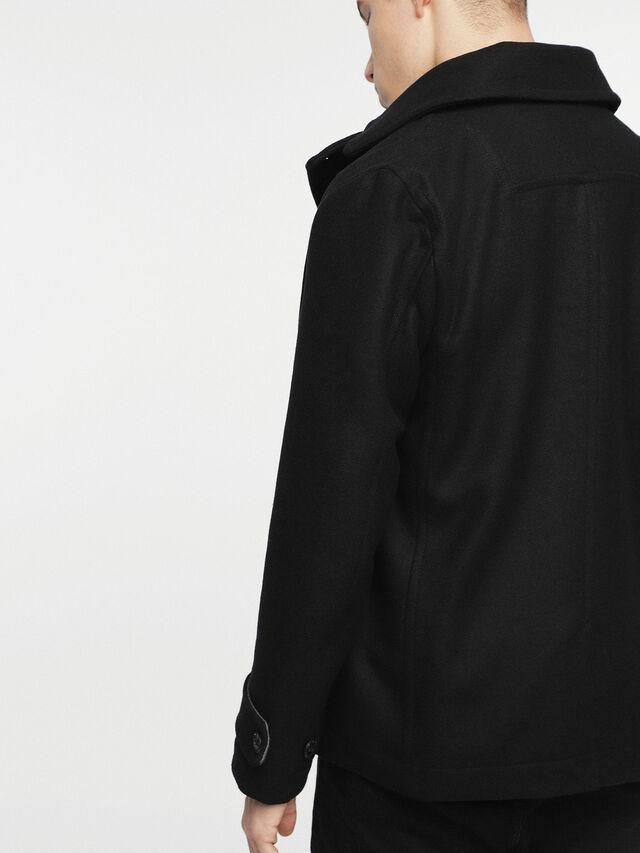 Diesel - W-BANFI, Black - Winter Jackets - Image 2