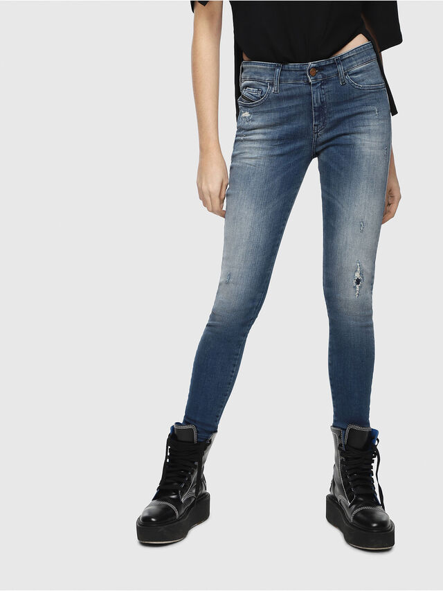 Diesel - Slandy 084MU, Medium blue - Jeans - Image 1