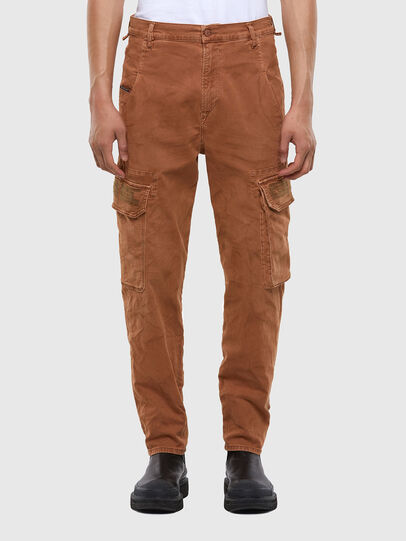 Diesel - D-Krett JoggJeans 069RJ, Light Brown - Jeans - Image 1