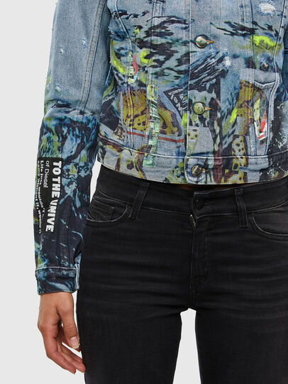 Diesel - DE-LIMMY-SX, Light Blue - Denim Jackets - Image 5