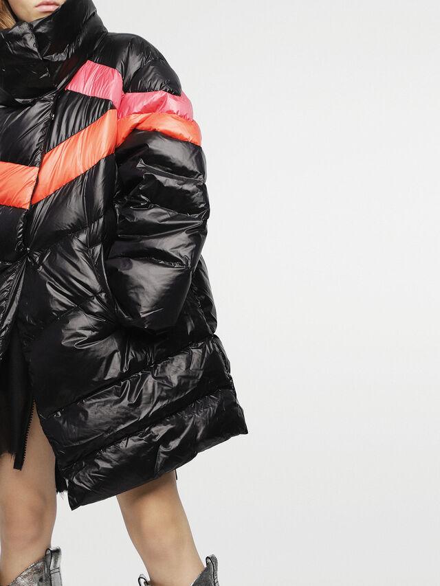 Diesel - W-HERMA, Black - Winter Jackets - Image 3