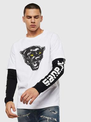 T-SHOOT-B2, White/Black - T-Shirts