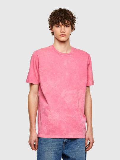 Diesel - T-JUST-E2, Pink - T-Shirts - Image 1