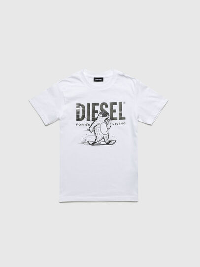 Diesel - TBEAR-TSE, White - T-shirts and Tops - Image 1