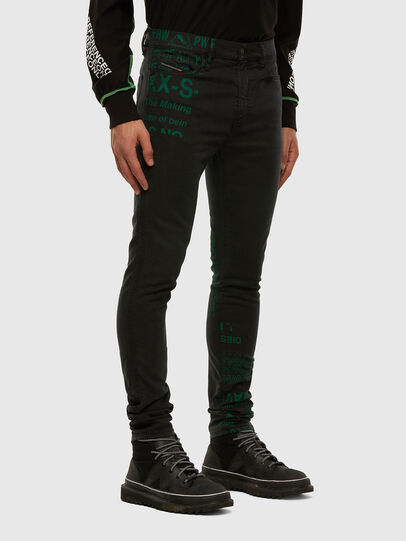 Diesel - D-Reeft JoggJeans 009HD, Black/Dark grey - Jeans - Image 6