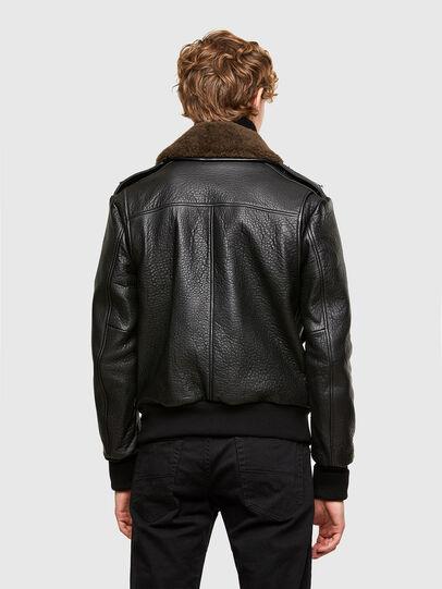 Diesel - L-FRED, Black - Leather jackets - Image 2