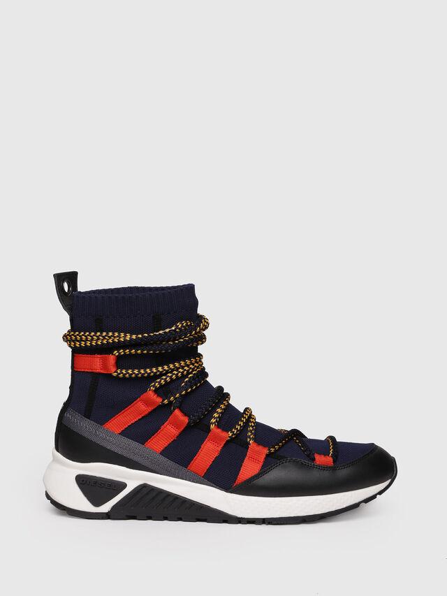 Diesel - S-KB LOOP SOCK, Black/Red - Sneakers - Image 1