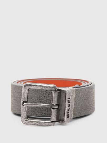 Diesel - B-DOUBLEX, Grey - Belts - Image 1