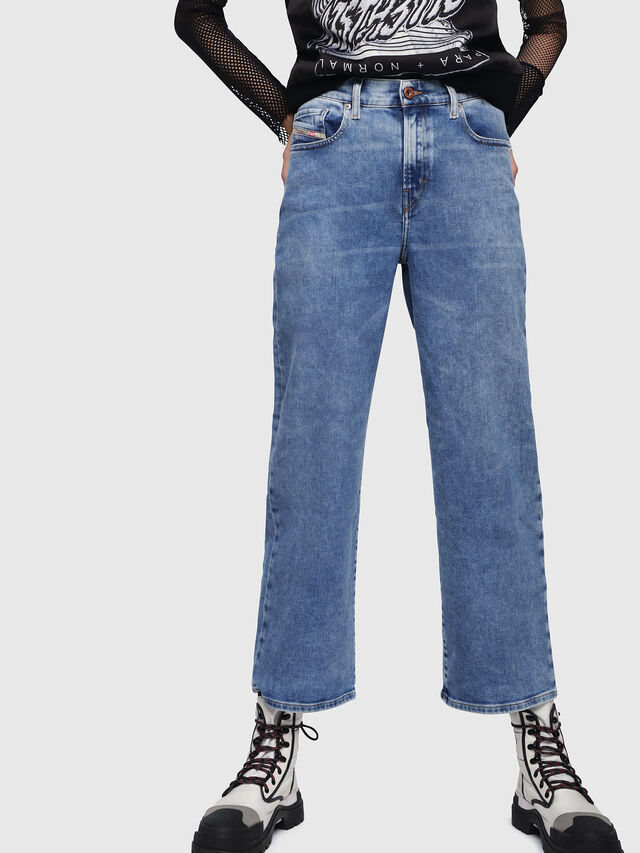 Diesel - Widee 087AR, Medium blue - Jeans - Image 1