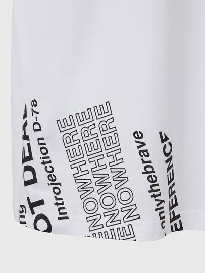 Diesel - T-JUST-FOLDED, White - T-Shirts - Image 5