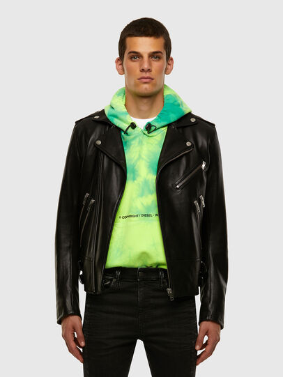 Diesel - L-GARRETT, Black - Leather jackets - Image 6