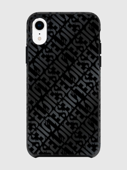 Diesel - DIESEL PRINTED CO-MOLD CASE FOR IPHONE XR, Black - Cases - Image 2