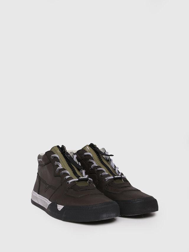 Diesel - S-GRINDD MID ZIP, Black - Sneakers - Image 3