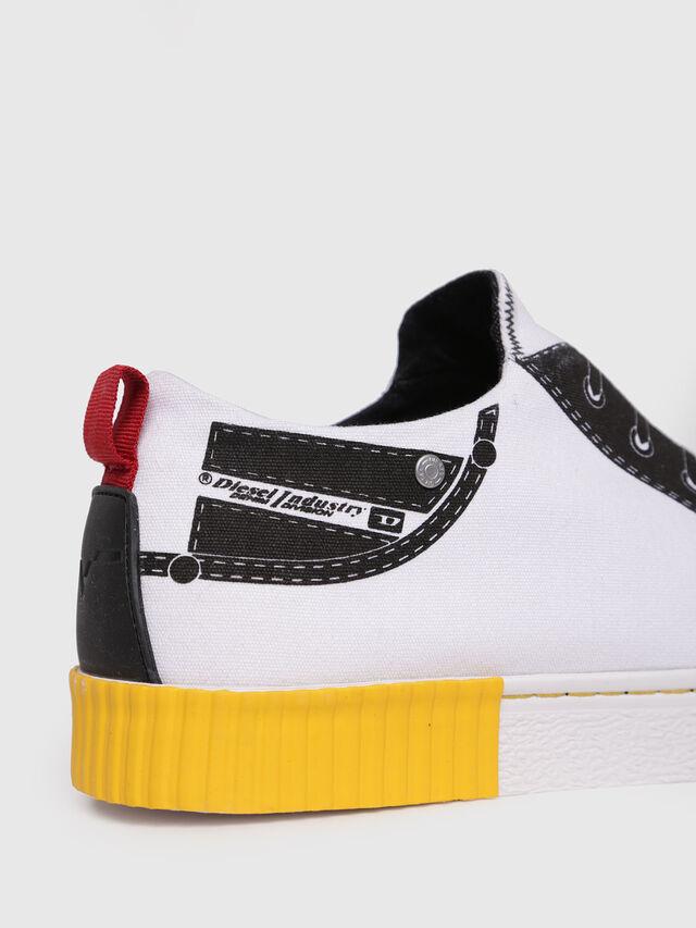Diesel - S-DIESEL IMAGINEE LOW, White - Sneakers - Image 4