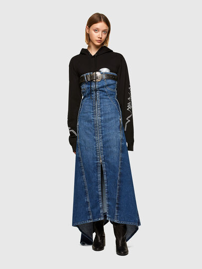 Diesel - DRINA, Medium blue - Dresses - Image 6