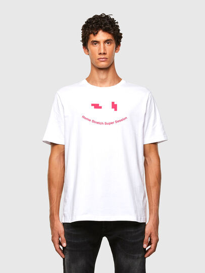 Diesel - T-JUST-N43, White - T-Shirts - Image 1
