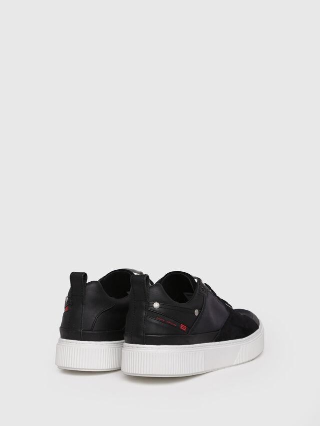 Diesel - S-DANNY LC, Black - Sneakers - Image 2