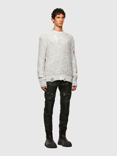 Diesel - K-JOSH, Light Grey - Knitwear - Image 6